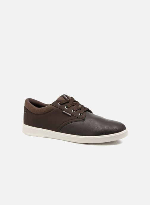 Baskets Jack & Jones JFWGASTON PU MIX Marron vue détail/paire