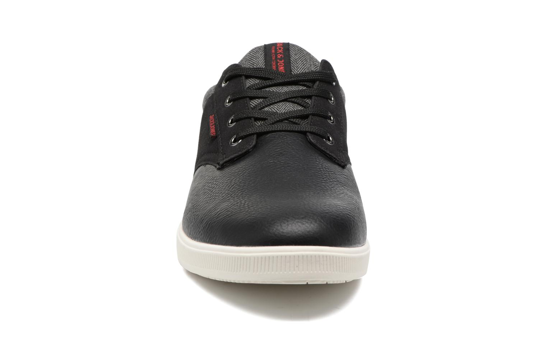 Baskets Jack & Jones JFWGASTON PU MIX Noir vue portées chaussures