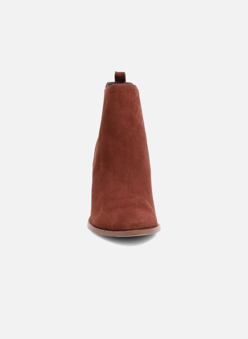 Bottines et boots COSMOPARIS JEDINI/VEL Rouge vue portées chaussures