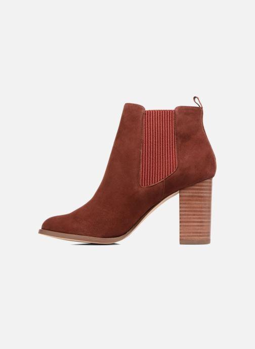 Bottines et boots COSMOPARIS JEDINI/VEL Rouge vue face