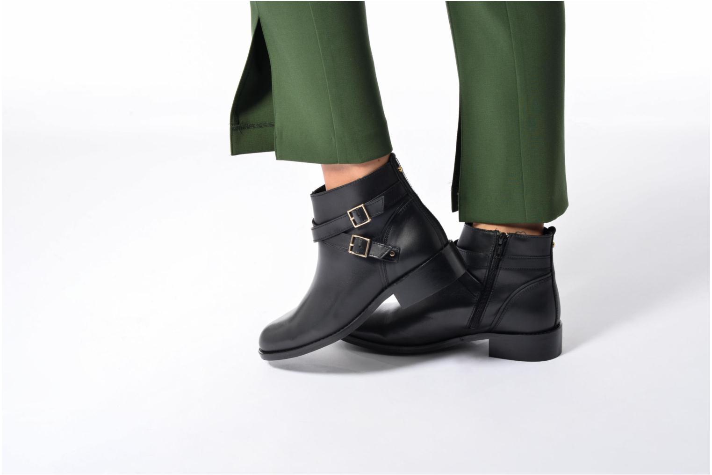 Bottines et boots COSMOPARIS FIMO Noir vue bas / vue portée sac