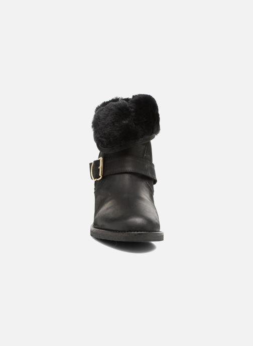 Bottines et boots COSMOPARIS FLOA/NUB Noir vue portées chaussures