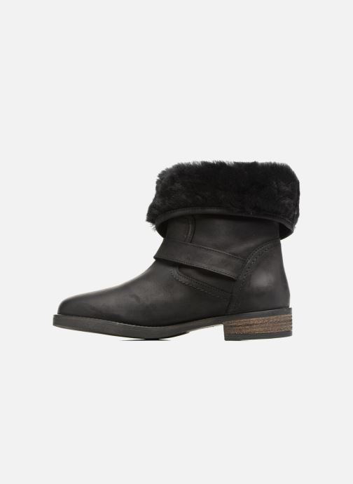 Bottines et boots COSMOPARIS FLOA/NUB Noir vue face