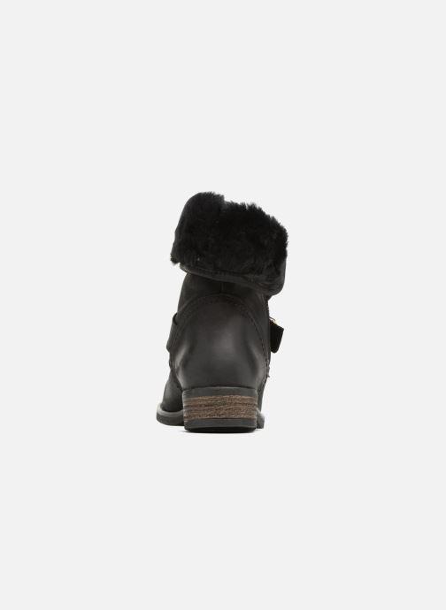 Bottines et boots COSMOPARIS FLOA/NUB Noir vue droite