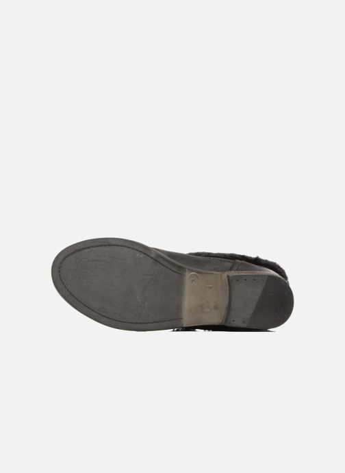 Bottines et boots COSMOPARIS FLOA/NUB Noir vue haut