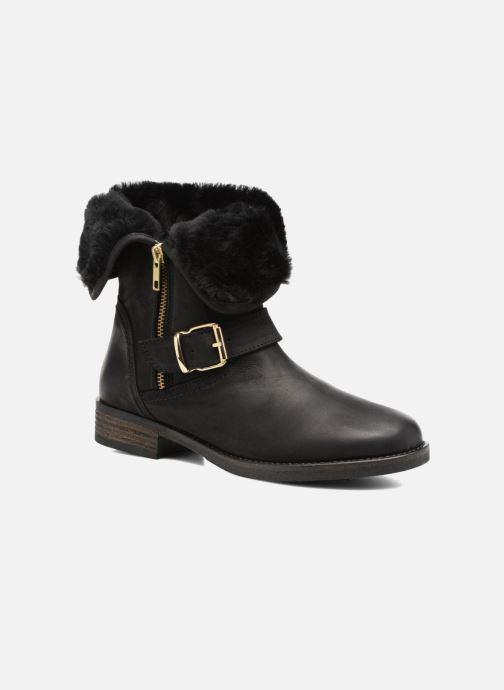 Bottines et boots COSMOPARIS FLOA/NUB Noir vue détail/paire