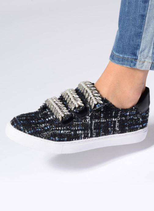Trainers COSMOPARIS HILEO/TWEED Blue view from underneath / model view