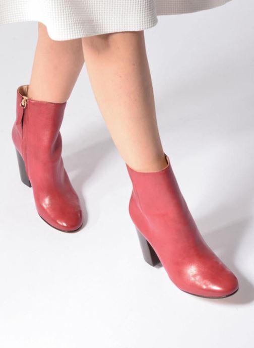 Boots en enkellaarsjes COSMOPARIS ASSAYA Rood onder
