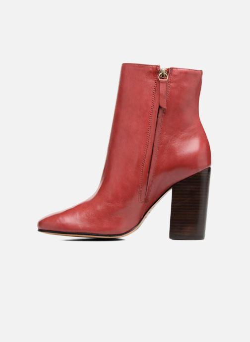 Boots en enkellaarsjes COSMOPARIS ASSAYA Rood voorkant