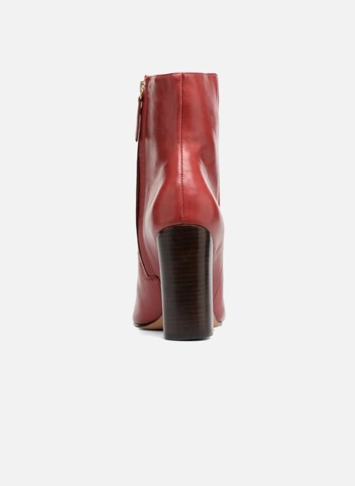 Boots en enkellaarsjes COSMOPARIS ASSAYA Rood rechts