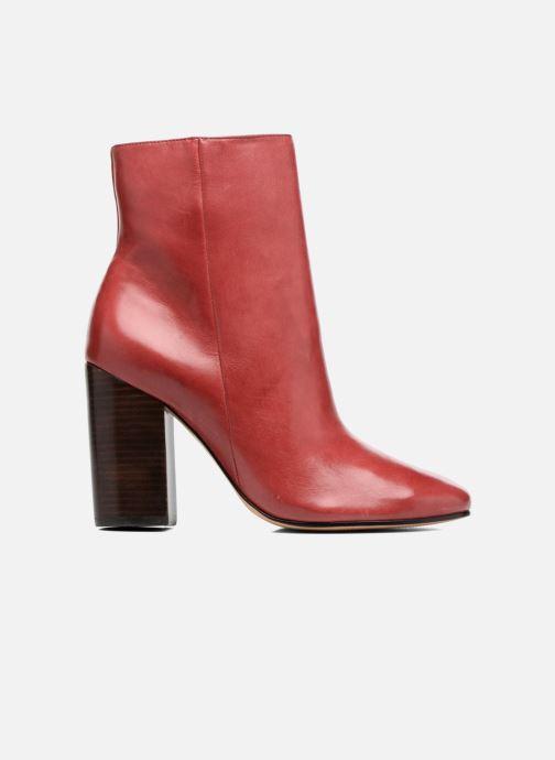 Boots en enkellaarsjes COSMOPARIS ASSAYA Rood achterkant