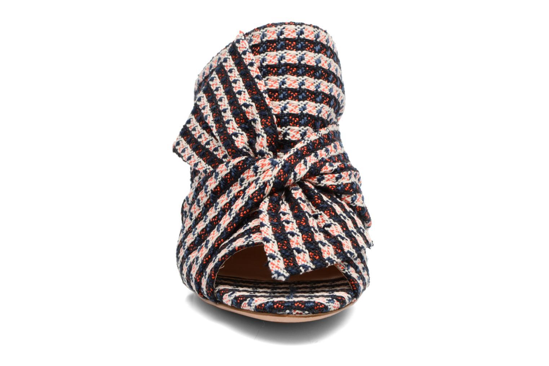 Mules et sabots COSMOPARIS ATI/TWEED Multicolore vue portées chaussures