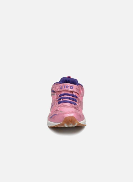 Chaussures de sport LICO Bob Vs Rose vue portées chaussures