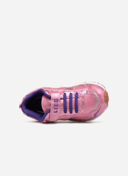 Chaussures de sport LICO Bob Vs Rose vue gauche