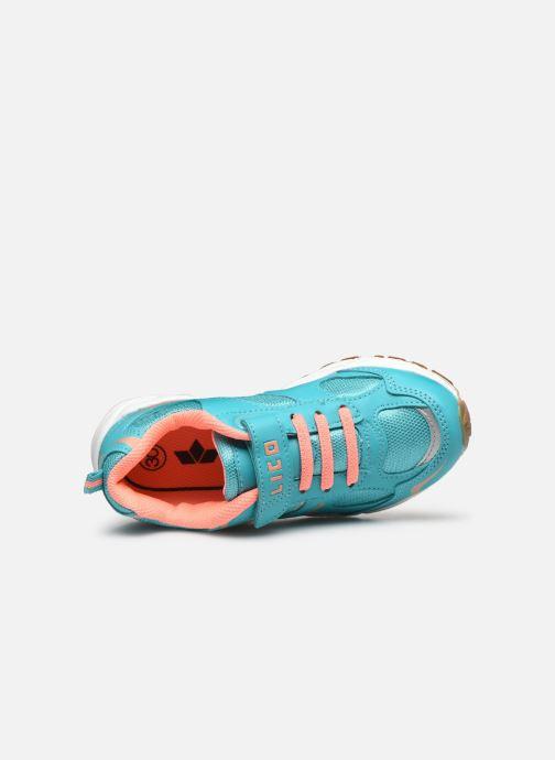 Zapatillas de deporte LICO Bob Vs Azul vista lateral izquierda