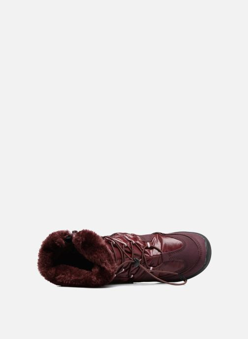 Sport shoes LICO Adora Burgundy view from the left