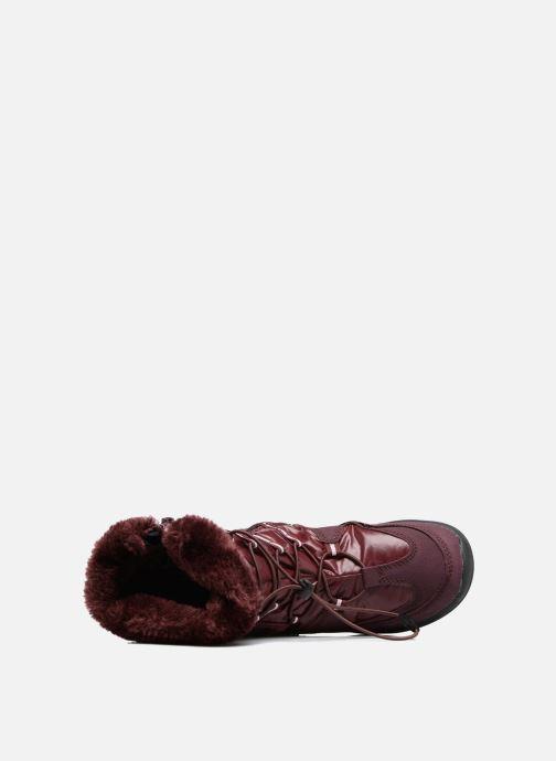Chaussures de sport Lico Adora Bordeaux vue gauche
