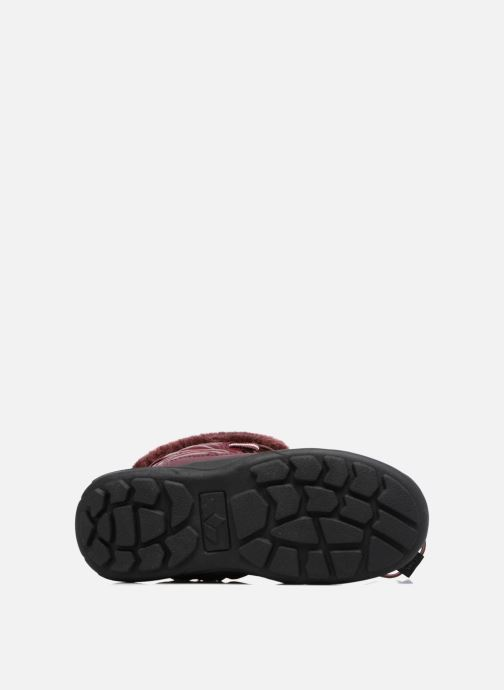 Sport shoes LICO Adora Burgundy view from above