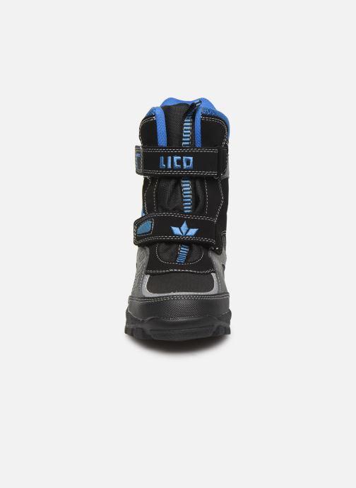 Zapatillas de deporte LICO Samuel V Negro vista del modelo