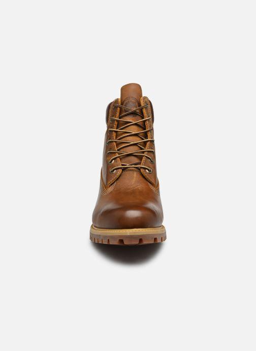 """Boots en enkellaarsjes Timberland Heritage 6"""" Premium Bruin model"""