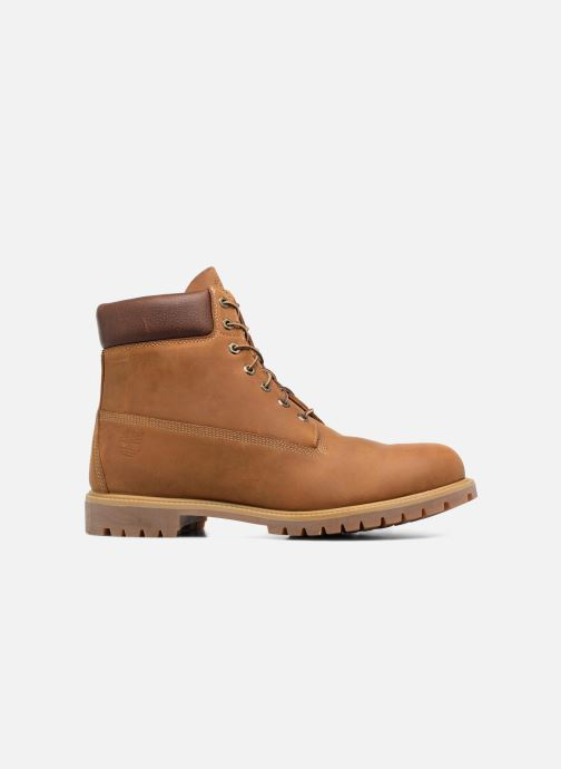 Timberland heritage 6 premium boot burnt orange worn oiled +