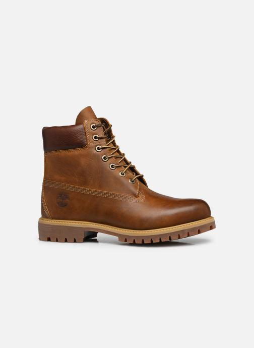 """Stiefeletten & Boots Timberland Heritage 6"""" Premium braun ansicht von hinten"""