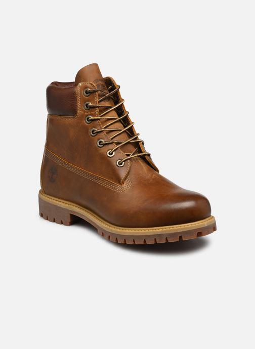 """Boots en enkellaarsjes Timberland Heritage 6"""" Premium Bruin detail"""