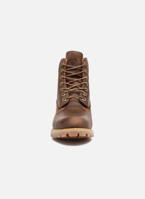 """Bottines et boots Timberland Heritage 6"""" Premium Marron vue portées chaussures"""