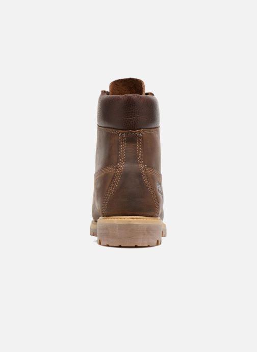 "Bottines et boots Timberland Heritage 6"" Premium Marron vue droite"