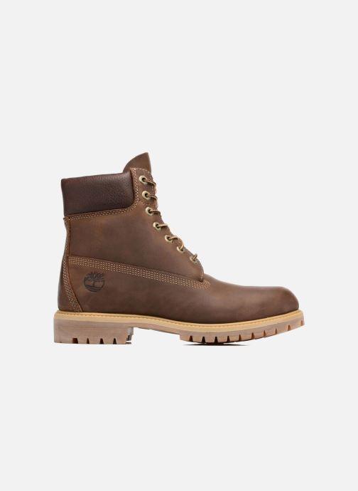 """Bottines et boots Timberland Heritage 6"""" Premium Marron vue derrière"""
