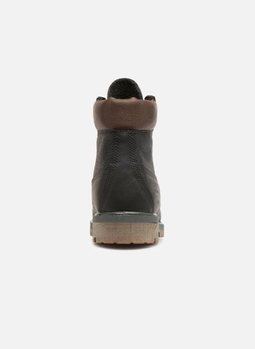 "Bottines et boots Timberland Heritage 6"" Premium Gris vue droite"