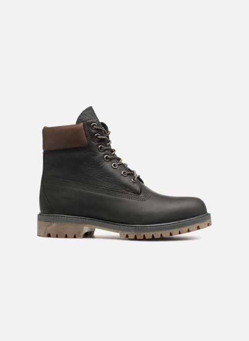 """Bottines et boots Timberland Heritage 6"""" Premium Gris vue derrière"""