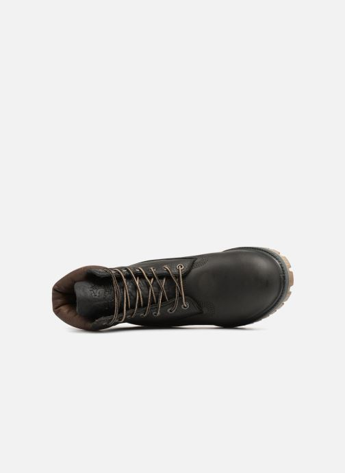 """Boots en enkellaarsjes Timberland Heritage 6"""" Premium Grijs links"""