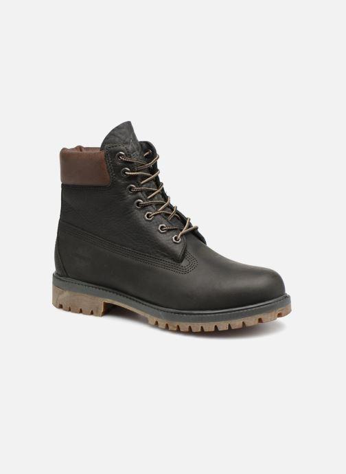 """Bottines et boots Timberland Heritage 6"""" Premium Gris vue détail/paire"""