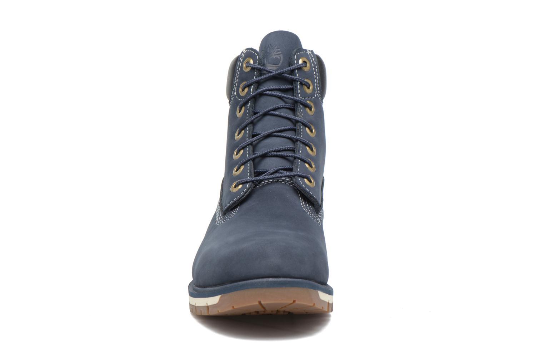 "Bottines et boots Timberland Radford 6"" Boot WP Bleu vue portées chaussures"