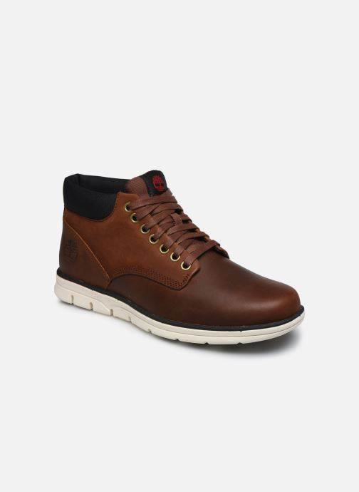 Bottines et boots Timberland Bradstreet Chukka Marron vue détail/paire
