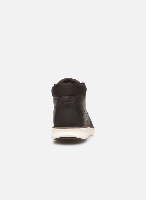 Ankle boots Timberland Bradstreet Chukka Brown view from the right