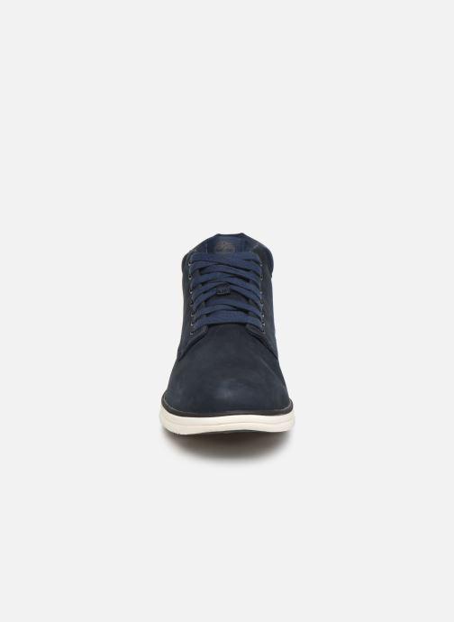 Bottines et boots Timberland Bradstreet Chukka Bleu vue portées chaussures