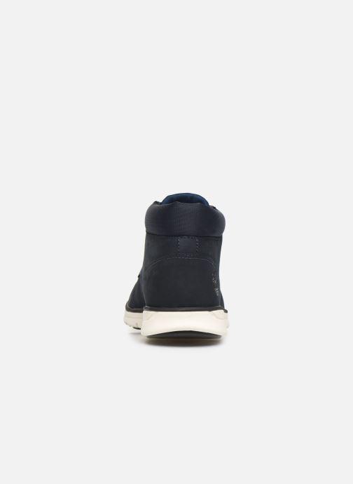 Bottines et boots Timberland Bradstreet Chukka Bleu vue droite
