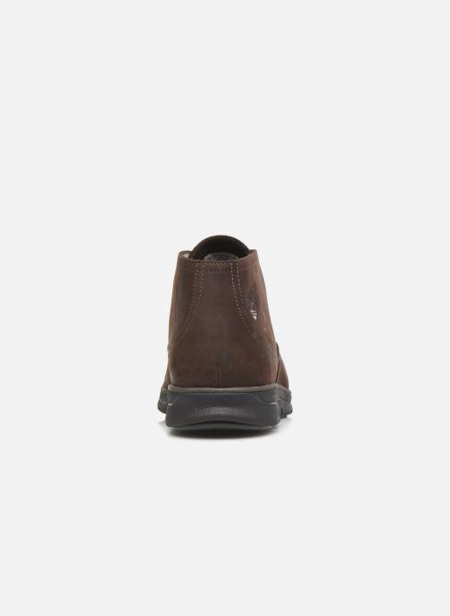 Boots en enkellaarsjes Timberland Bradstreet Chukka Bruin rechts