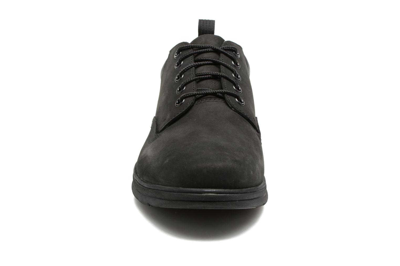 Sneaker Timberland Bradstreet 5 Eye Ox schwarz schuhe getragen