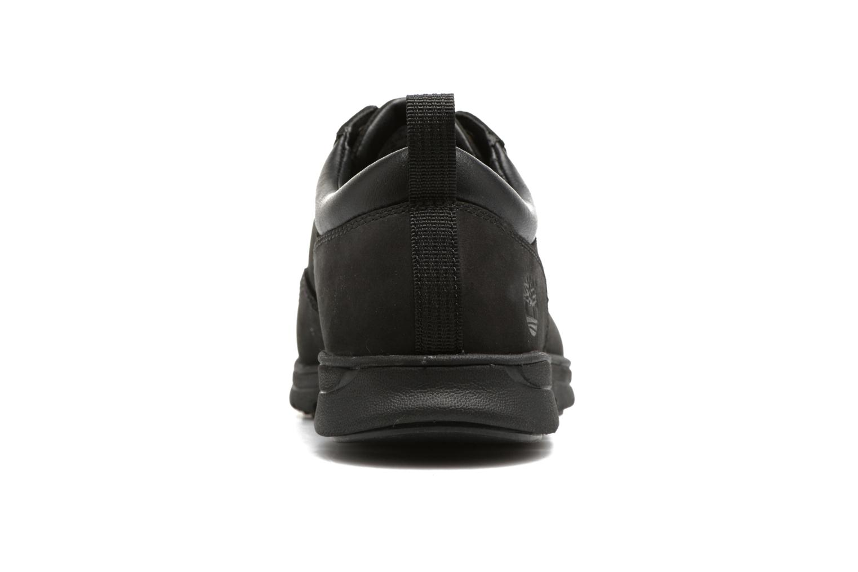 Sneaker Timberland Bradstreet 5 Eye Ox schwarz ansicht von rechts