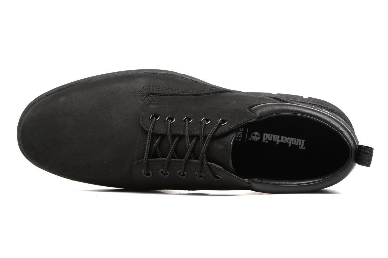 Sneaker Timberland Bradstreet 5 Eye Ox schwarz ansicht von links