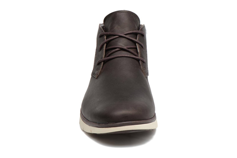 Chaussures à lacets Timberland Franklin Prk Chukka Noir vue portées chaussures
