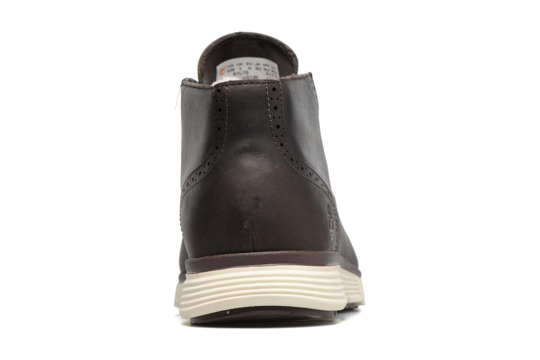 Chaussures à lacets Timberland Franklin Prk Chukka Noir vue droite