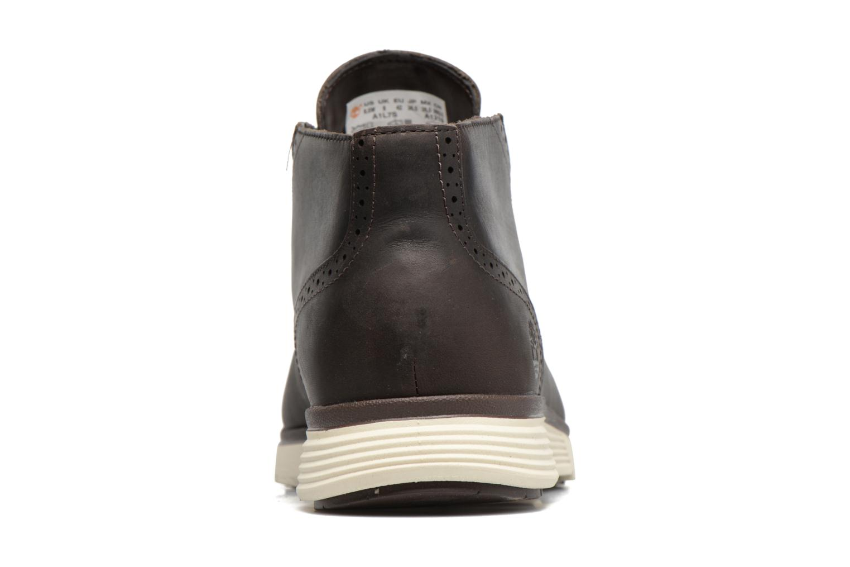 Chaussures à lacets Timberland Franklin Prk Chukka Noir vue derrière