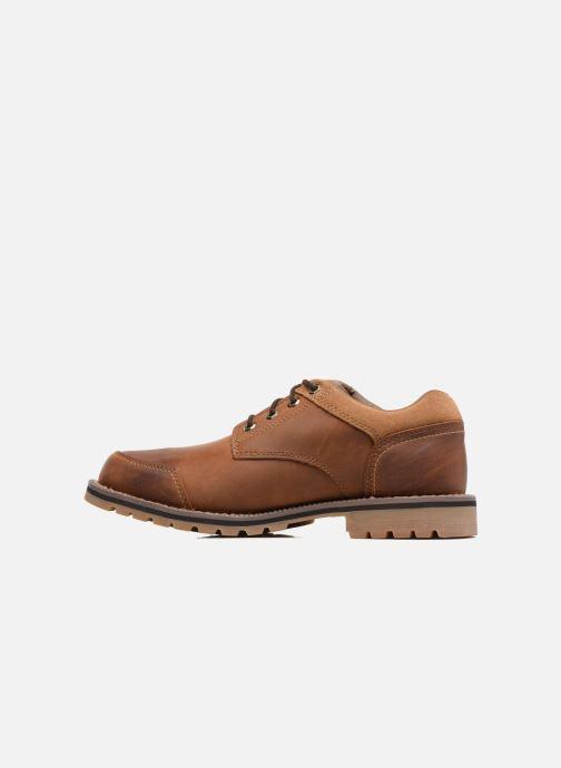 Chaussures à lacets Timberland Larchmont Oxford Marron vue face