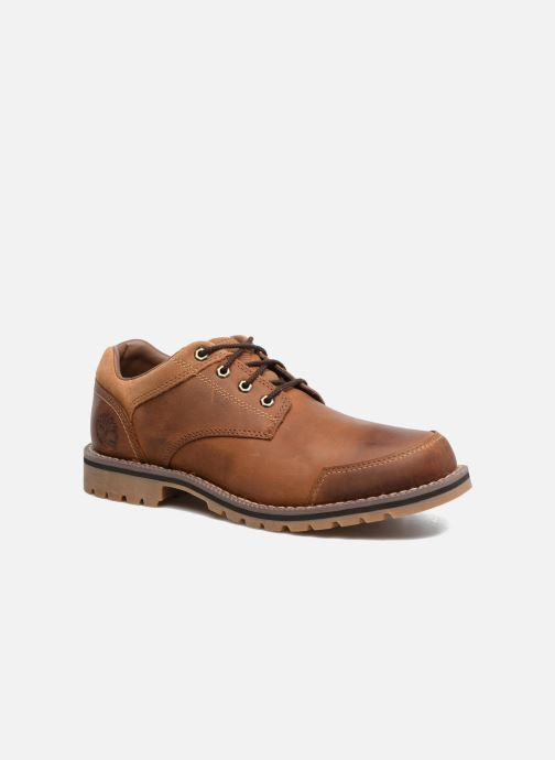 ea59e7e0dc3 Chaussures à lacets Timberland Larchmont Oxford Marron vue détail paire