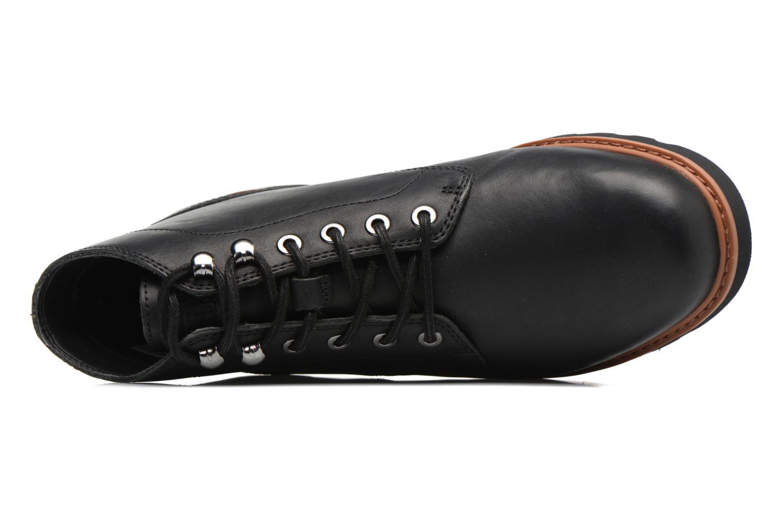 Bottines et boots Timberland Newmarket Lug PT Chukka Noir vue gauche