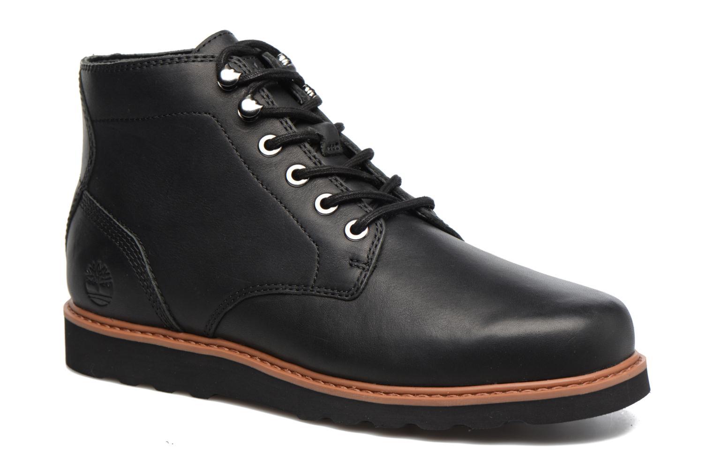 Bottines et boots Timberland Newmarket Lug PT Chukka Noir vue détail/paire